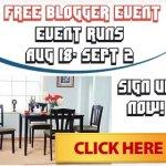 Bloggers Wanted ~ Metropolitan 5 Piece Dining Set