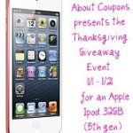 [Giveaway] Apple IPod Touch ~ Pink 32 GB – CLOSED