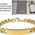 Trendhim – 10mm Gold-Toned Stainless Steel ID Bracelet Review