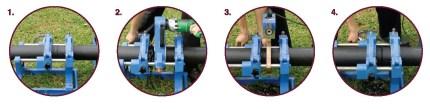 cara proses penyambungan pipa hdpe dengan butt fusion