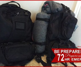 FHE: Pack your 72 Hour Kit