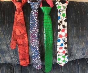 DIY Tie for little boy