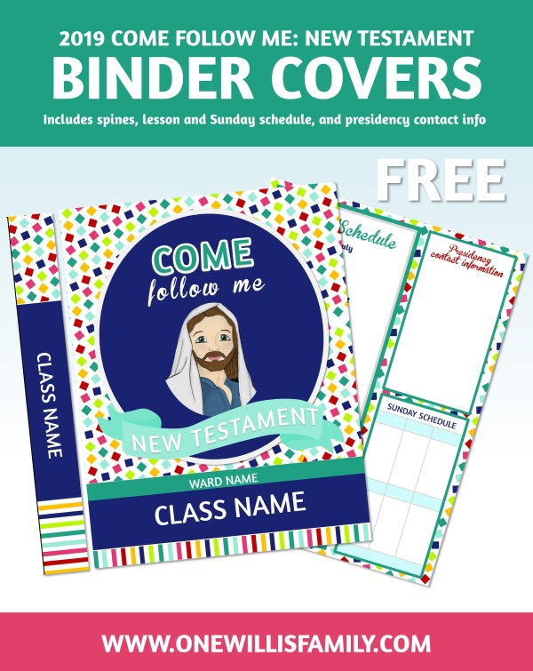 2019 Primary Binder Covers