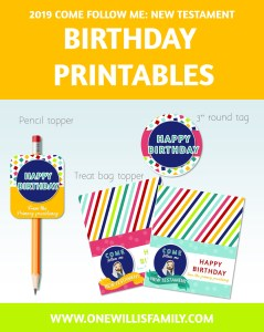 2019 Primary Birthday Kit