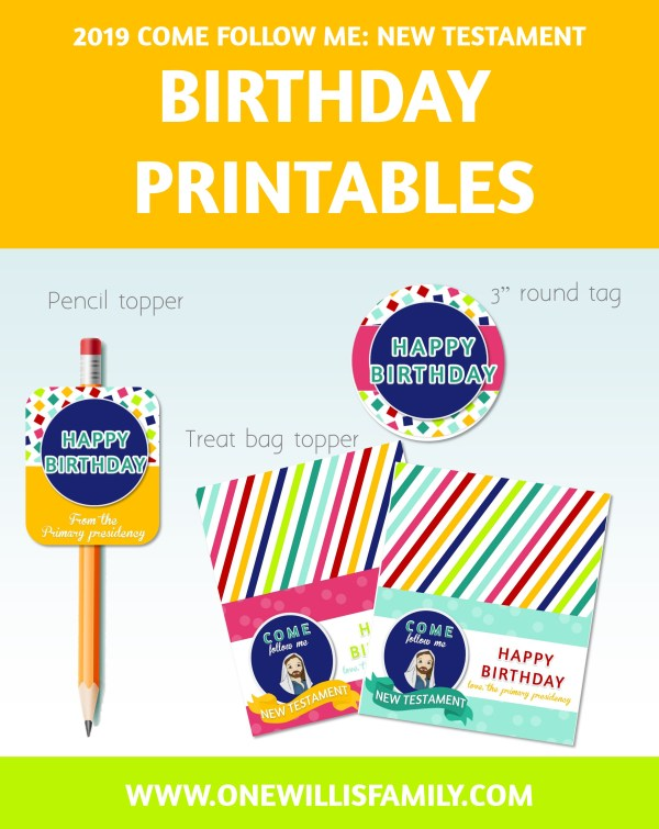 2019 Primary Birthday Kit