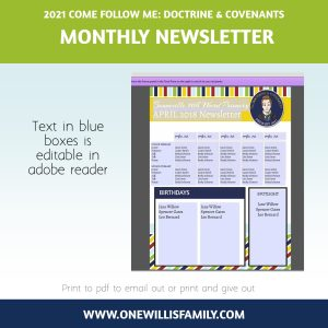 Primary 2021 Newsletter template