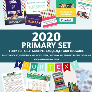 2020 Primary Theme Bundle