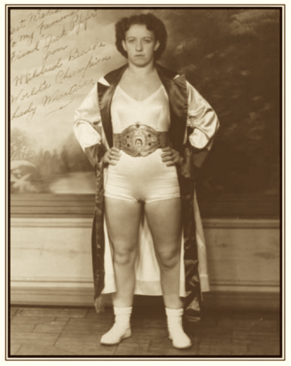 Mildred Burke, the first Wrestling Queen