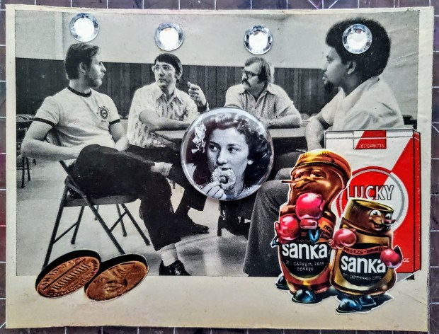 (Snack Break) Button Collage