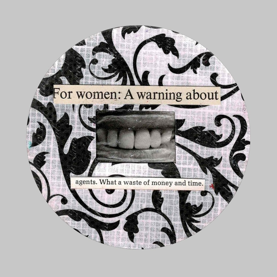 For Women a Warning collage by JRC