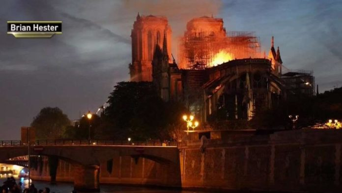 Tri State Photojournalist Captured Fire At Notre Dame