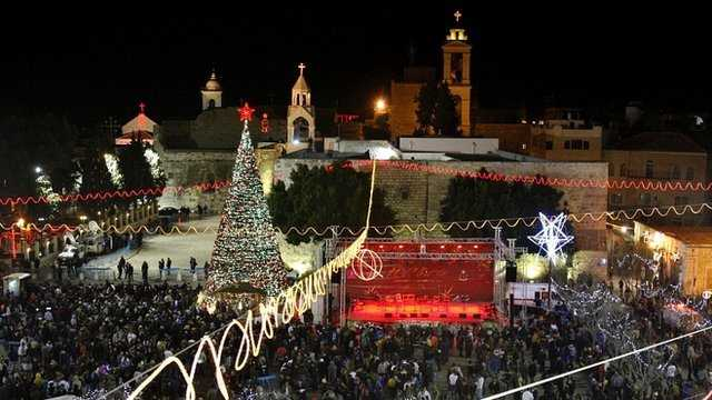 Christmas Celebrations at Bethlehem