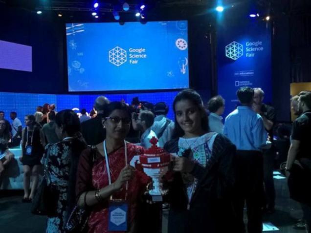 Indian girl wins 'Community Impact Award', U.S.A