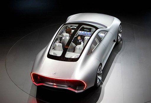 Mercedes-Benz reveals, car changes shape