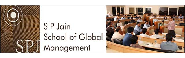 India's SP Jain School of Global Management in World top 100, One World News
