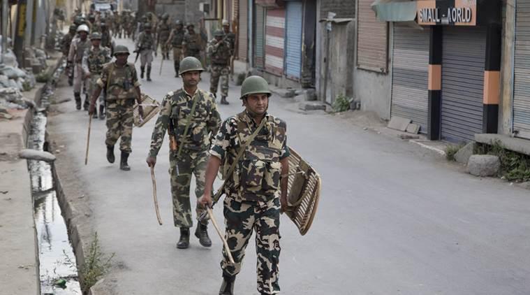 Search operation in Kashmir's Baramulla
