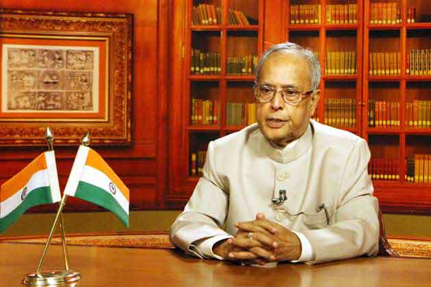President Pranab Mukherjee turns a year older