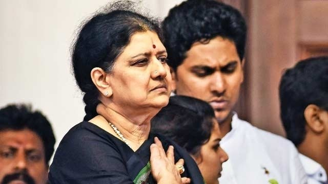 Sasikala found guilty of corruption