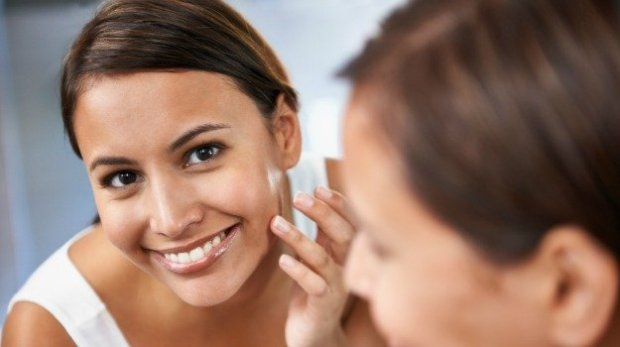 Get clean face.