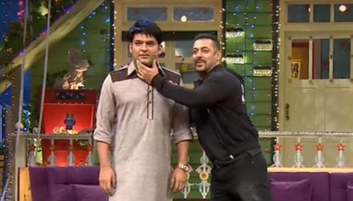 Kapil Sharma and Salman Khan