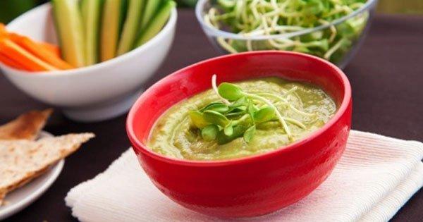 gi diet guacamole crudites