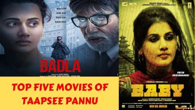 TOP FIVE MOVIES OF TAAPSEE PANNU