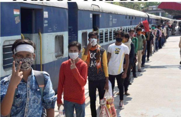 migrants train fare