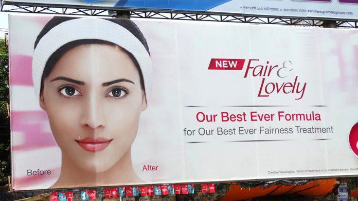 Fair and Lovely drops fair