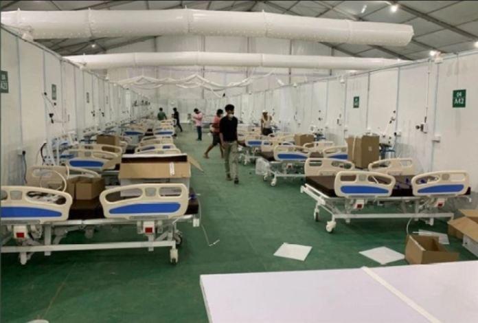 delhi hospital built in 12 days of corona