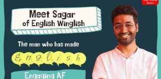 sagar english winglish