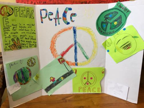 kids peace poster