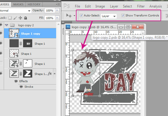 Easier_Illustrator-like_layer_auto-select 8 Photoshop Tricks I Wish I Knew When I Was a Student