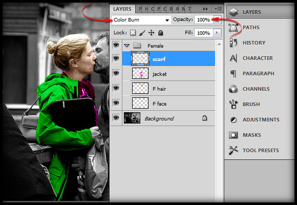 image-16 Working with Photoshop's Blending Modes to Color a Black and White Photo