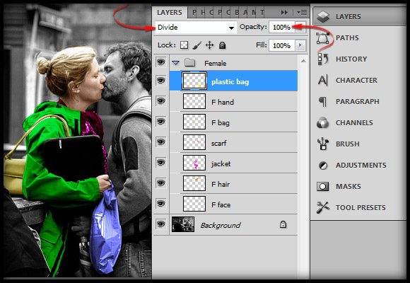 image-20 Working with Photoshop's Blending Modes to Color a Black and White Photo
