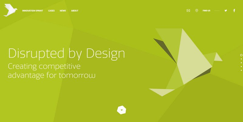 5-Disrupted-by-Design Attention to Branding: 20 Websites with Beautiful Logotypes