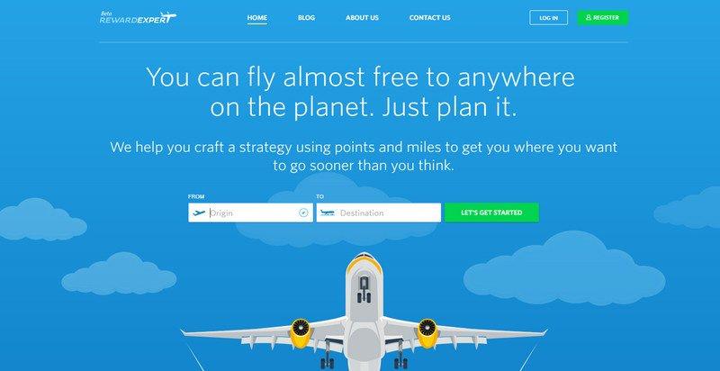 14-Reward-Expert 20 Beautiful and Stylish Startup Web Designs