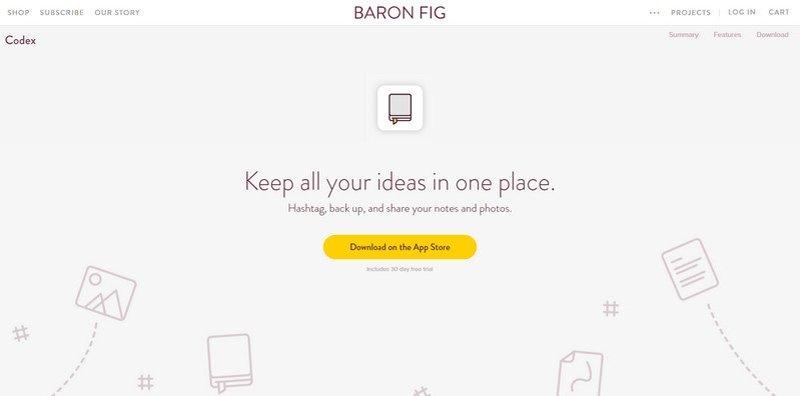 3-Baron-Fig 20 Beautiful and Stylish Startup Web Designs