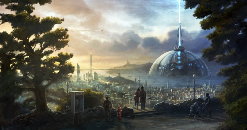 San-Francisco-vista 34 Breathtaking Examples of Sci-Fi Art Found on Deviant Art