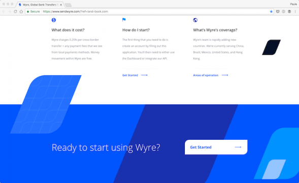 Wyre-Global-Bank-Transfers-Faster-than-Email-2017-01-21-17-12-04-589x360 The Use of Shapes in Web Design with 30 Examples