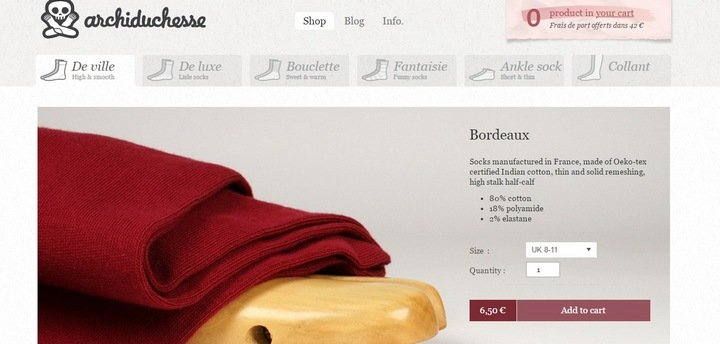 archiduchesse 5 Tips and Tricks For An Effective eCommerce Site With 10 Brilliant Examples