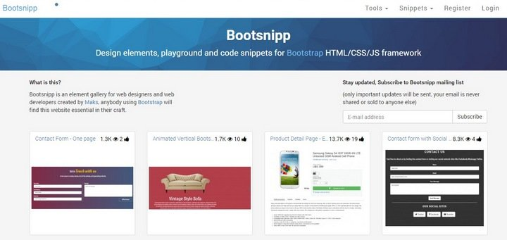 bootsnip 15 Useful Code Snippet Tools That Will Help You Store And Manage Your Code Library