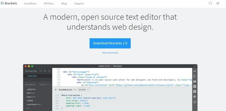 brackets 15 Useful Code Snippet Tools That Will Help You Store And Manage Your Code Library