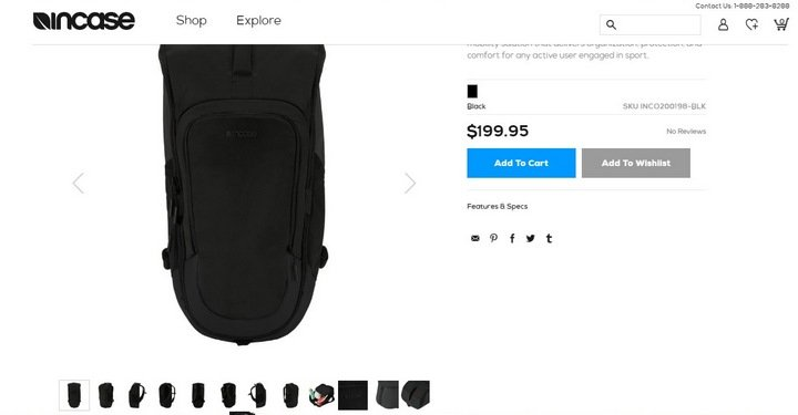 incase 5 Tips and Tricks For An Effective eCommerce Site With 10 Brilliant Examples