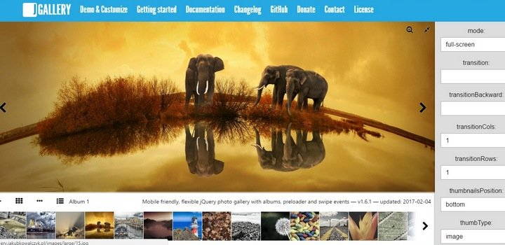 jgallery 15+ Great jQuery Images Gallery Plugins To Showcase Your Work