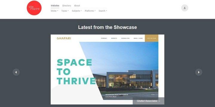 site-inspire 15 Amazing CSS Web Design Galleries