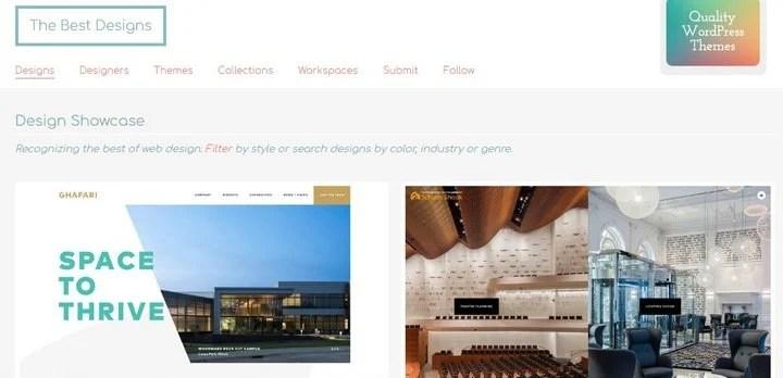 the-best-designs 15 Amazing CSS Web Design Galleries