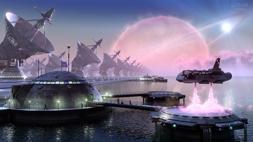 the-rising-tide 34 Breathtaking Examples of Sci-Fi Art Found on Deviant Art
