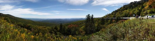 Blue Ridge Parkway Before Applying for Graduation at TESU