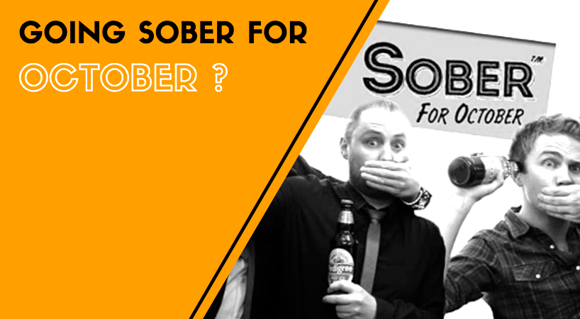 Going Sober For October?  WHY Bother & HOW to Succeed