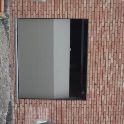 Installation porte garage